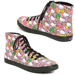 Hello Kitty high top Vans